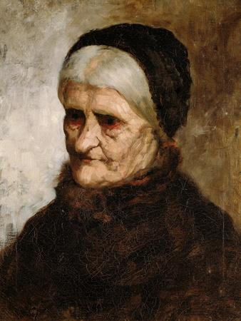 Head of an Old Woman, 1881