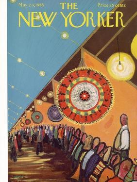 The New Yorker Cover - May 24, 1958 by Robert Kraus