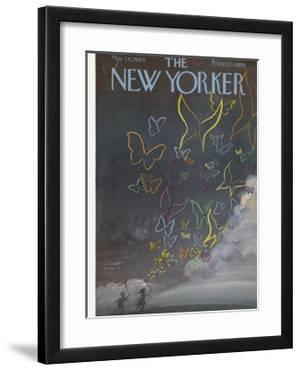 The New Yorker Cover - May 28, 1960 by Robert Kraus
