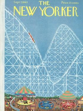 The New Yorker Cover - September 7, 1963 by Robert Kraus