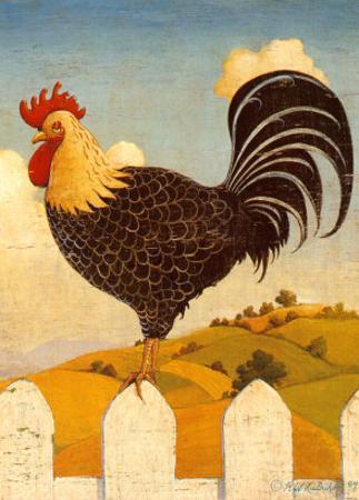 Country Crowers II by Robert LaDuke