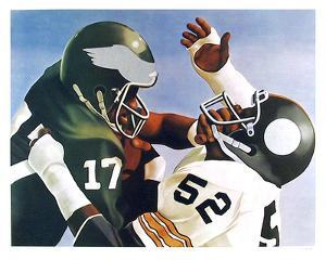 Violence in Pro Football by Robert Lambaise