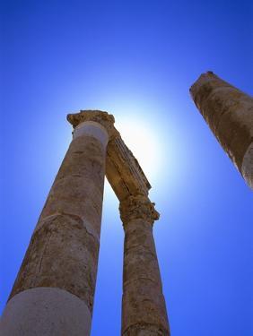Columns Blocking Sun by Robert Landau