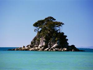 Small Island off Coast by Robert Landau