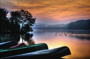 French Creek Sunrise by Robert Lott