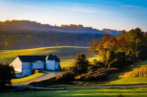 Granogue Barn by Robert Lott