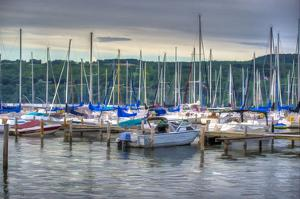 Harbor at Watkins Glen by Robert Lott