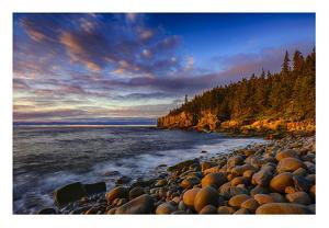 Sunrise on Otter Cliffs #4 by Robert Lott