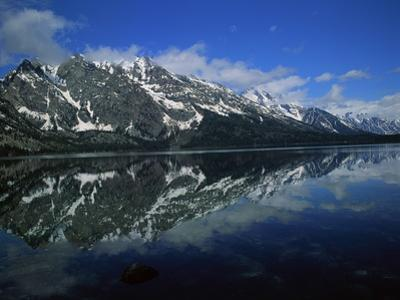 Mountain Reflection at Jenny Lake by Robert Marien