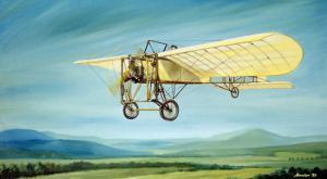 Pre-WWI Bleriot Monoplane by Robert Mascher