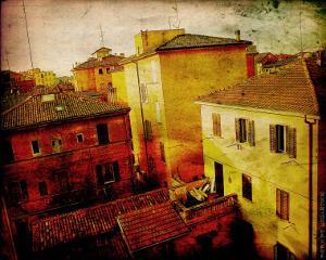 Bird's Eye Italy II by Robert Mcclintock