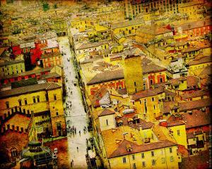Bird's Eye Italy IV by Robert Mcclintock
