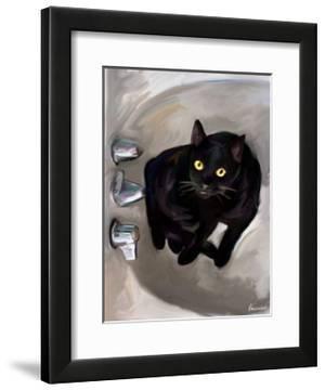 Black Cat Lookin' by Robert Mcclintock
