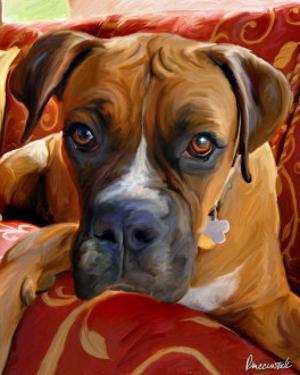 Harry Boxer by Robert Mcclintock