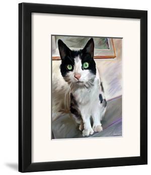 Pretty Girl Cat by Robert Mcclintock