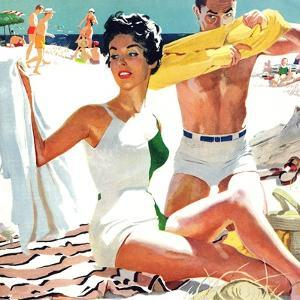 """I Love My Mother-In-Law - Saturday Evening Post """"Leading Ladies"""", June 5, 1954 pg.20 by Robert Meyers"""