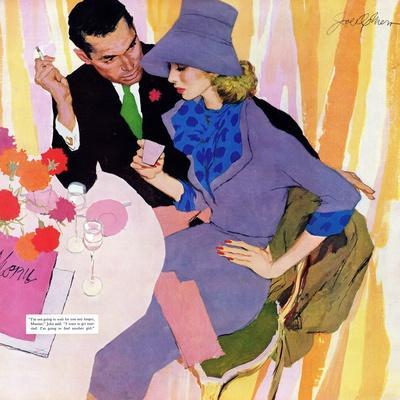 """Marriage Is Not For Me  - Saturday Evening Post """"Leading Ladies"""", June 15, 1957 pg.40"""