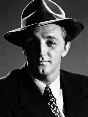 Robert Mitchum in the 50's dans les annees 50 (b/w photo)