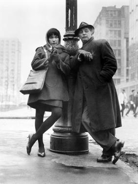 """Robert Mitchum, Shirley Maclaine. """"Two for the Seesaw"""" 1962, Directed by Robert Wise"""