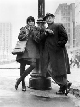 "Robert Mitchum, Shirley Maclaine. ""Two for the Seesaw"" 1962, Directed by Robert Wise"