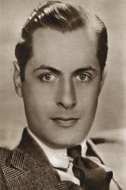 Robert Montgomery, American Actor and Director, 1933