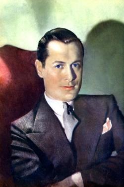 Robert Montgomery, American Actor and Film Director, 1934-1935