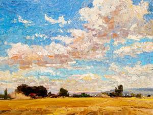 August Harvest by Robert Moore