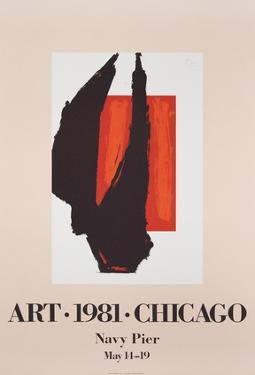 Art Chicago by Robert Motherwell