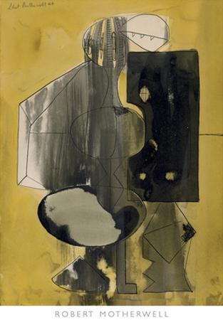 Untitled, 1944 by Robert Motherwell