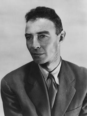 Robert Oppenheimer, Atomic Physicist and Head the Manhattan Project's Secret Weapons Laboratory