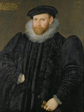 Sir Edward Grimston (1529-1610) as a Young Man by Robert Peake