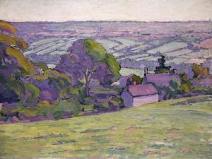 A Devonshire Valley, Number 1 by Robert Polhill Bevan