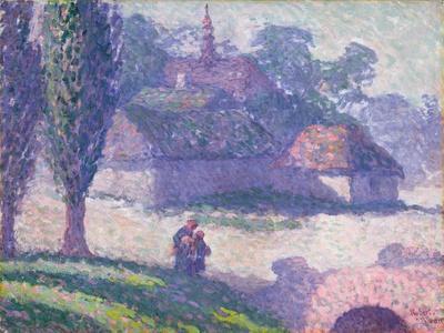 Mydlow Village, Poland, 1907
