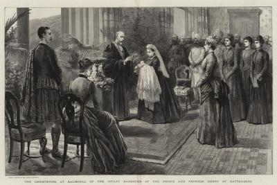 The Christening at Balmoral of the Infant Daughter of the Prince and Princess Henry of Battenberg