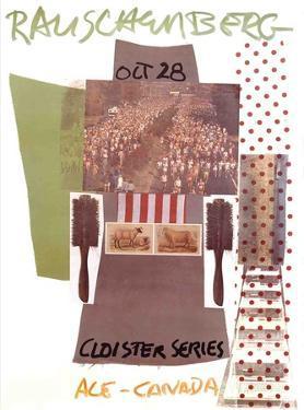 Cloister Series, Ace Gallery, Canada by Robert Rauschenberg