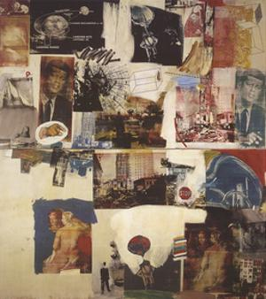 Skyway by Robert Rauschenberg