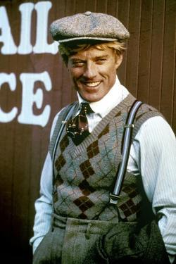 Robert Redford in 'The Sting', 1973 (photo)