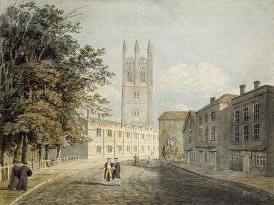 Magdalen College and the Eastern End of the High Street