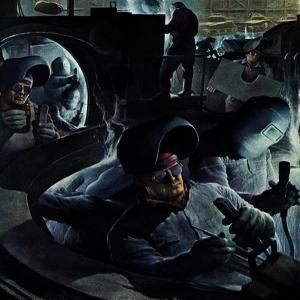 """Tank Factory,"" November 20, 1943 by Robert Riggs"
