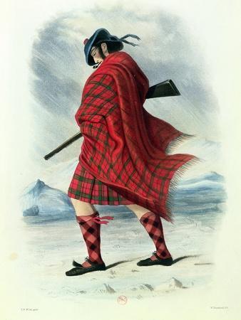 Scotsman in Highland Dress