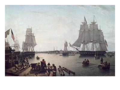 Boston Harbour from Constitution Wharf