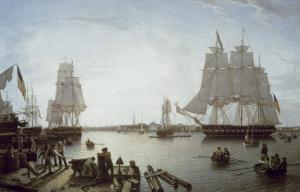 Boston Harbour by Robert Salmon