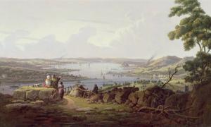 View of Greenock, Scotland by Robert Salmon