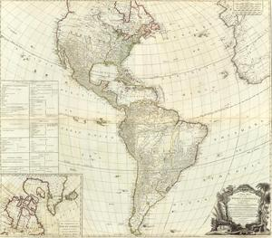 Composite: America, c.1786 by Robert Sayer