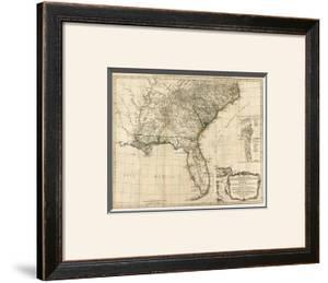 General Map of the Southern British Colonies, in America, c.1776 by Robert Sayer