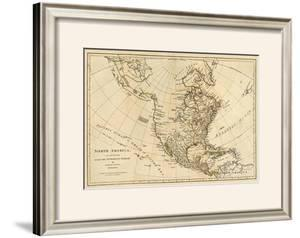 North America, As Divided amongst the European Powers, c.1776 by Robert Sayer