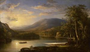 Ellen's Isle, Loch Katrine, 1871 by Robert Scott Duncanson