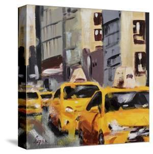 New York Taxi 6 by Robert Seguin