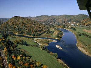 Branches of Delaware River Converge at Pennsylvania-New York Border by Robert Sisson