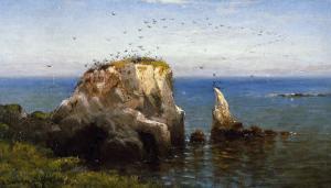 Rocks on the Sonoma Coast, California by Robert Swain Gifford